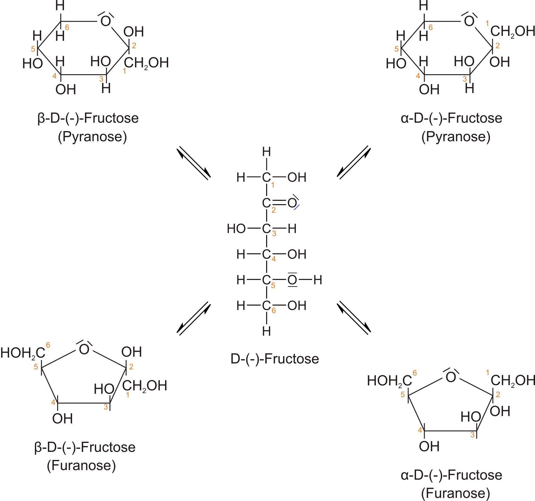 Fructose Pyranose Ring